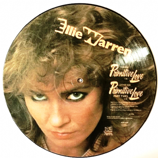"Ellie Warren - Primitive Love (12"") (Picture Disc) (G/VG-)"
